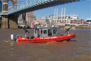 Guardians on patrol - Ohio River